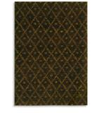 RugStudio presents Karastan Woven Impressions Diamond Ikat Espresso 35502-24116 Machine Woven, Better Quality Area Rug